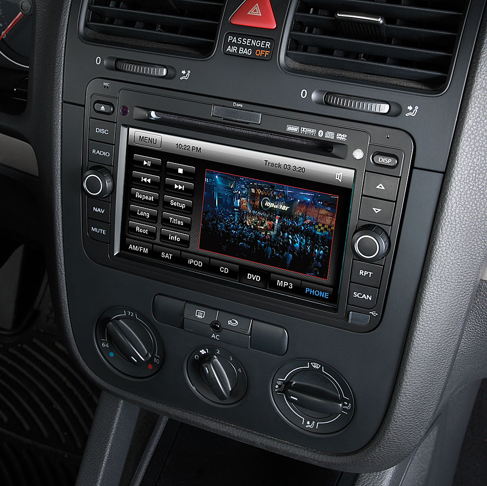 Rosen VW0710-H11 Navigation Receiver Custom-fit replacement for your on