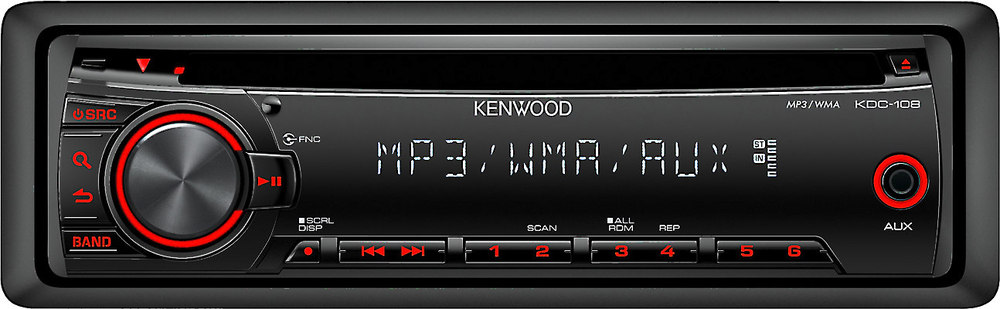 Kenwood KDC-108 CD receiver at Crutchfield.com on kenwood model kdc-2025 wiring-diagram, kenwood cd player wiring-diagram, kenwood kdc 210u wiring diagrams, kenwood car stereo kdc-248u wiring dia, kenwood car stereo wiring diagrams, kenwood kdc-152 wiring-diagram, kenwood harness diagram, 94 mazda b2300 radio wiring diagram, kenwood kdc 128 wiring harness, kenwood model kdc install wiring, kenwood kdc 248u wiring harness,