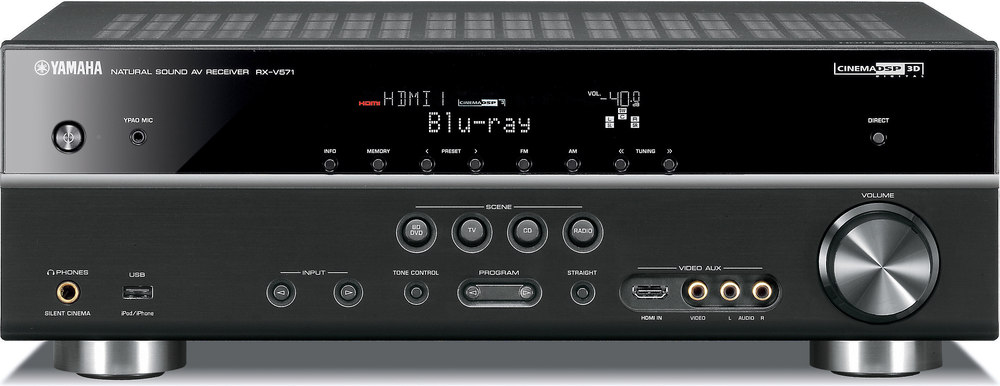 yamaha rx v571 home theater receiver with 3d ready hdmi switching at rh crutchfield com Thermo King Manuals yamaha rx-v571 manual download