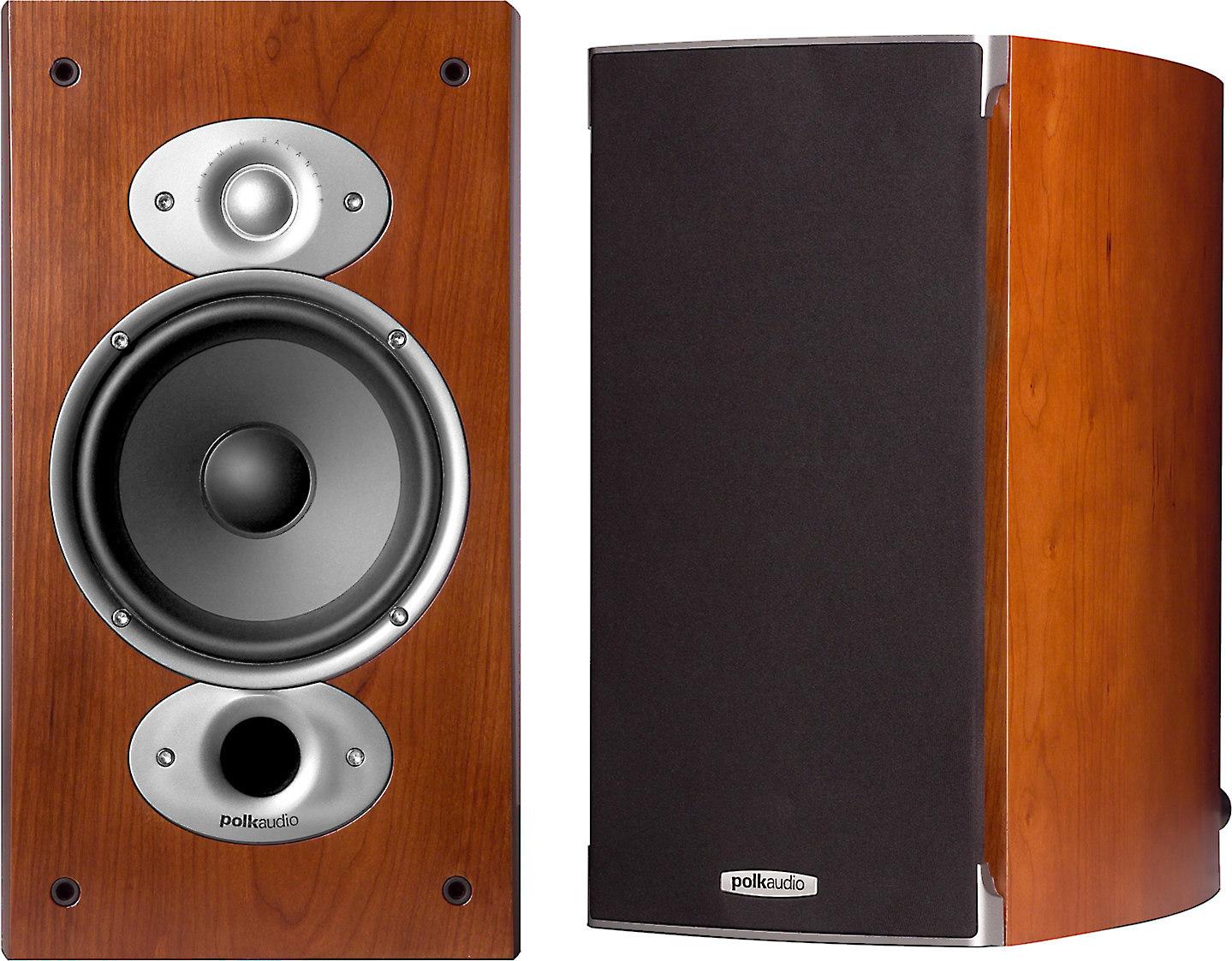 Polk Audio RTi A3 (Cherry) Bookshelf speakers at Crutchfield