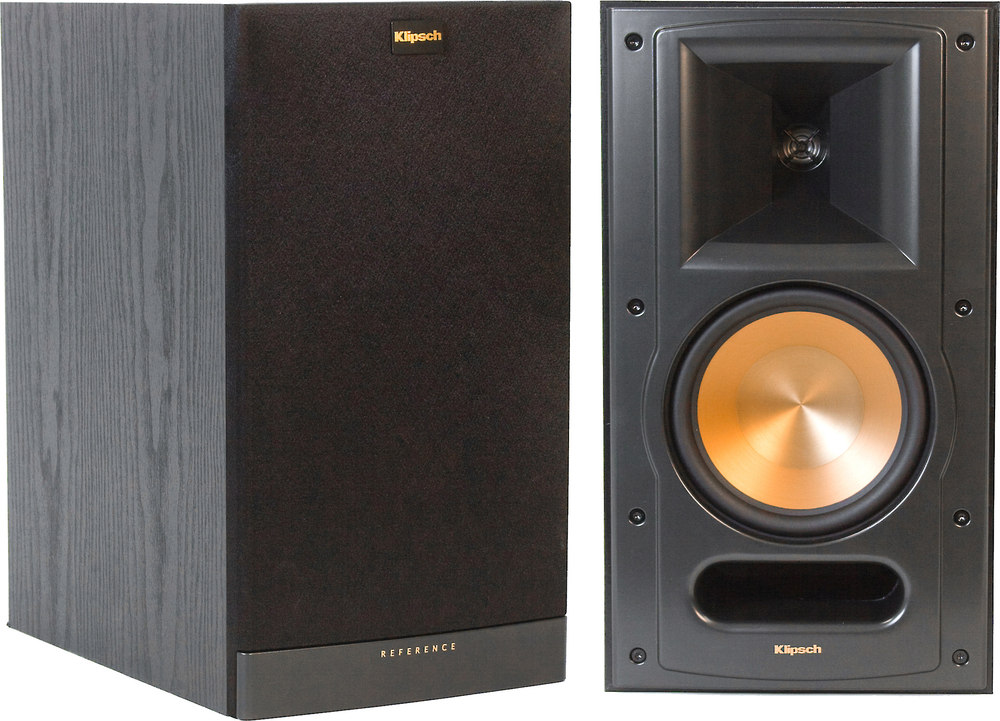 inch pair image bookshelf speakers klipsch canada r