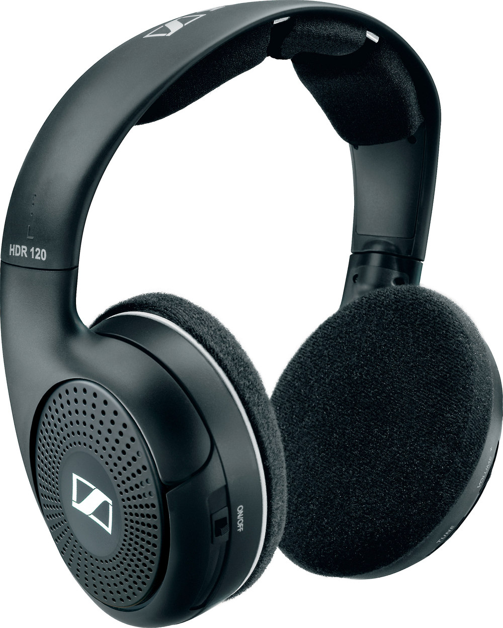Sennheiser Rs 135 9 Wireless On Ear Headphones With Transmitter At Wiring Wall Volume Control Hdr 120