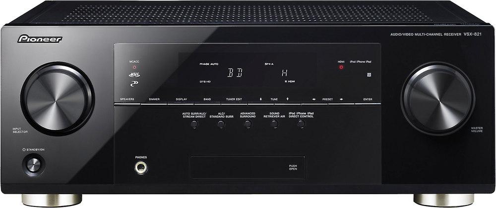 pioneer vsx 821 k home theater receiver with 3d ready hdmi switching rh crutchfield com pioneer vsx 821 k manual pdf pioneer vsx-821-k user manual
