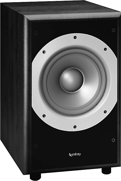infinity primus ps38 powered subwoofer at crutchfield