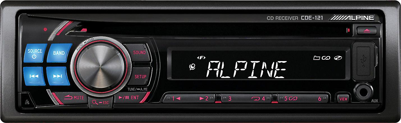 [SCHEMATICS_4FD]  Alpine CDE-121 CD receiver at Crutchfield | Alpine Cde 121 Wire Diagram |  | Crutchfield