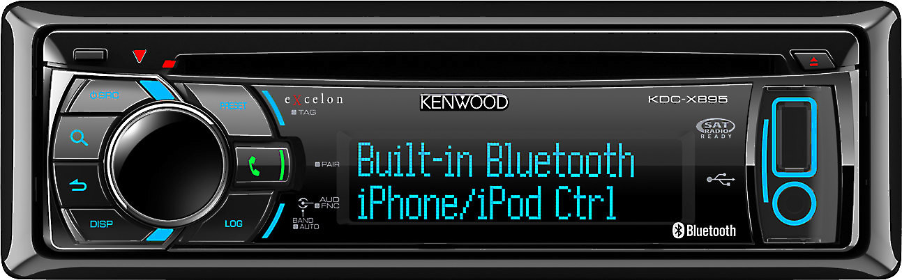 Kenwood Excelon KDC-X895 on