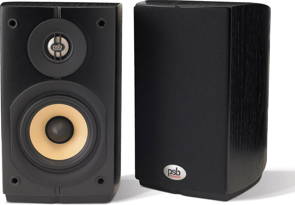 PSB Imagine Mini (Black Ash) Compact bookshelf speakers at ...