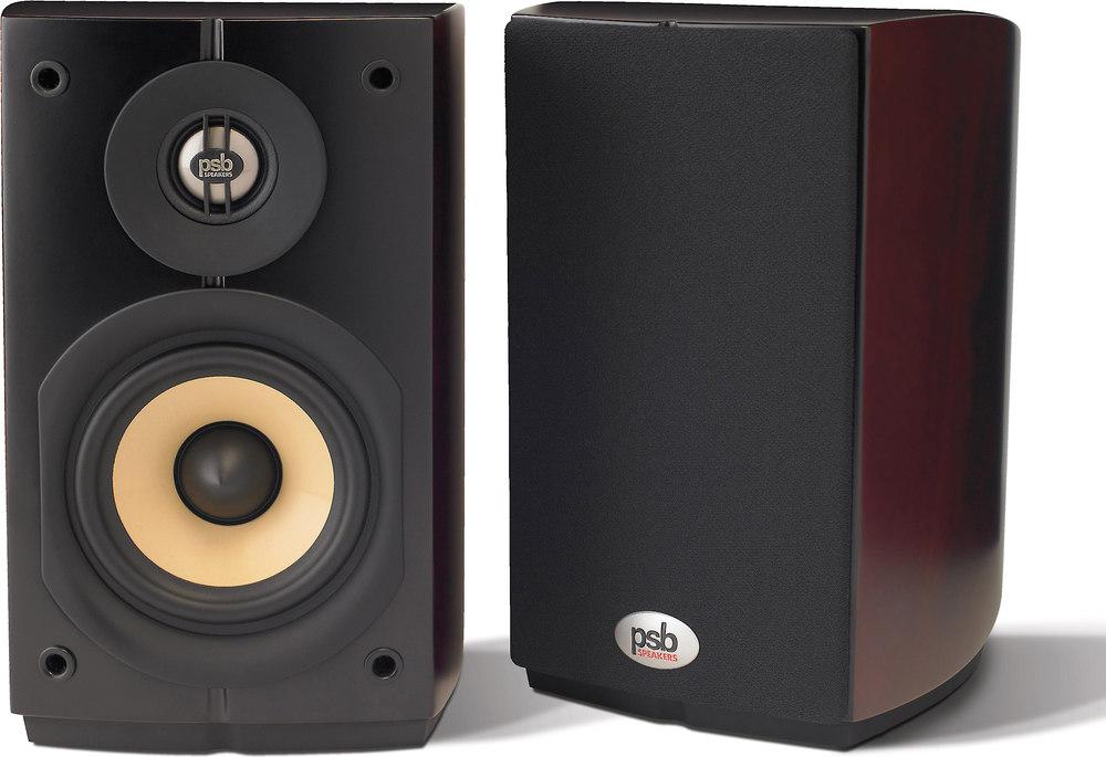 PSB Imagine Mini (Dark Cherry) Compact bookshelf speakers ...