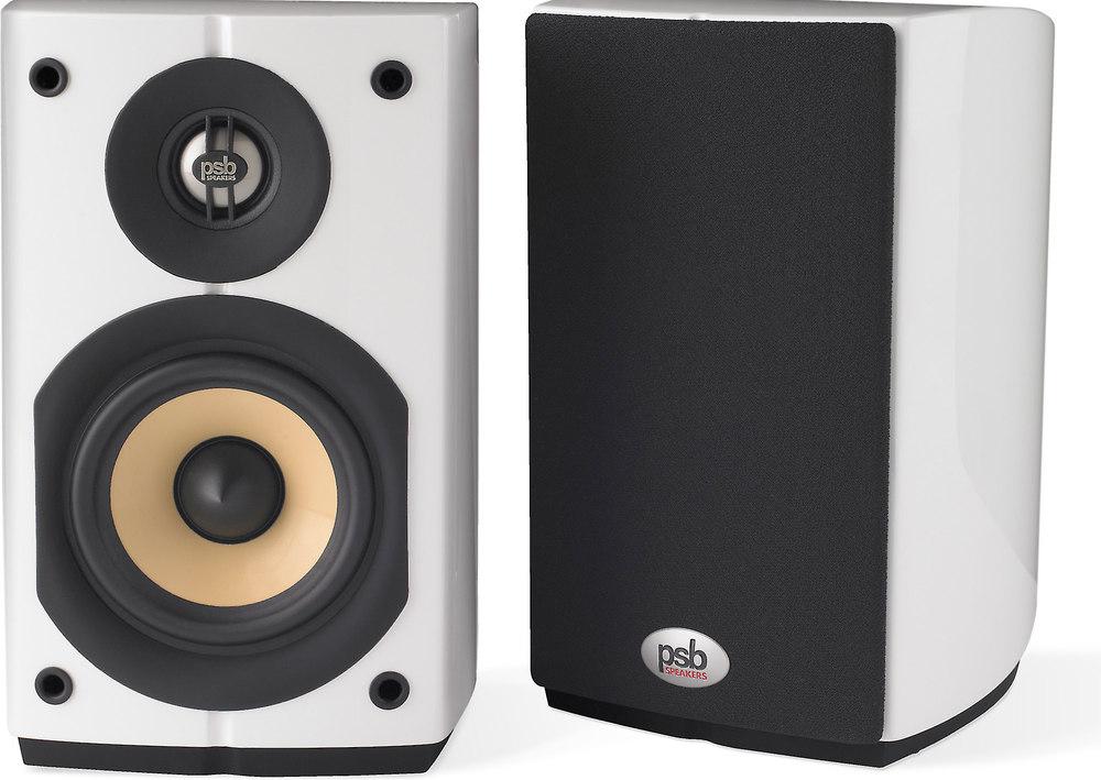 PSB Imagine Mini (Gloss White) Compact bookshelf speakers ...