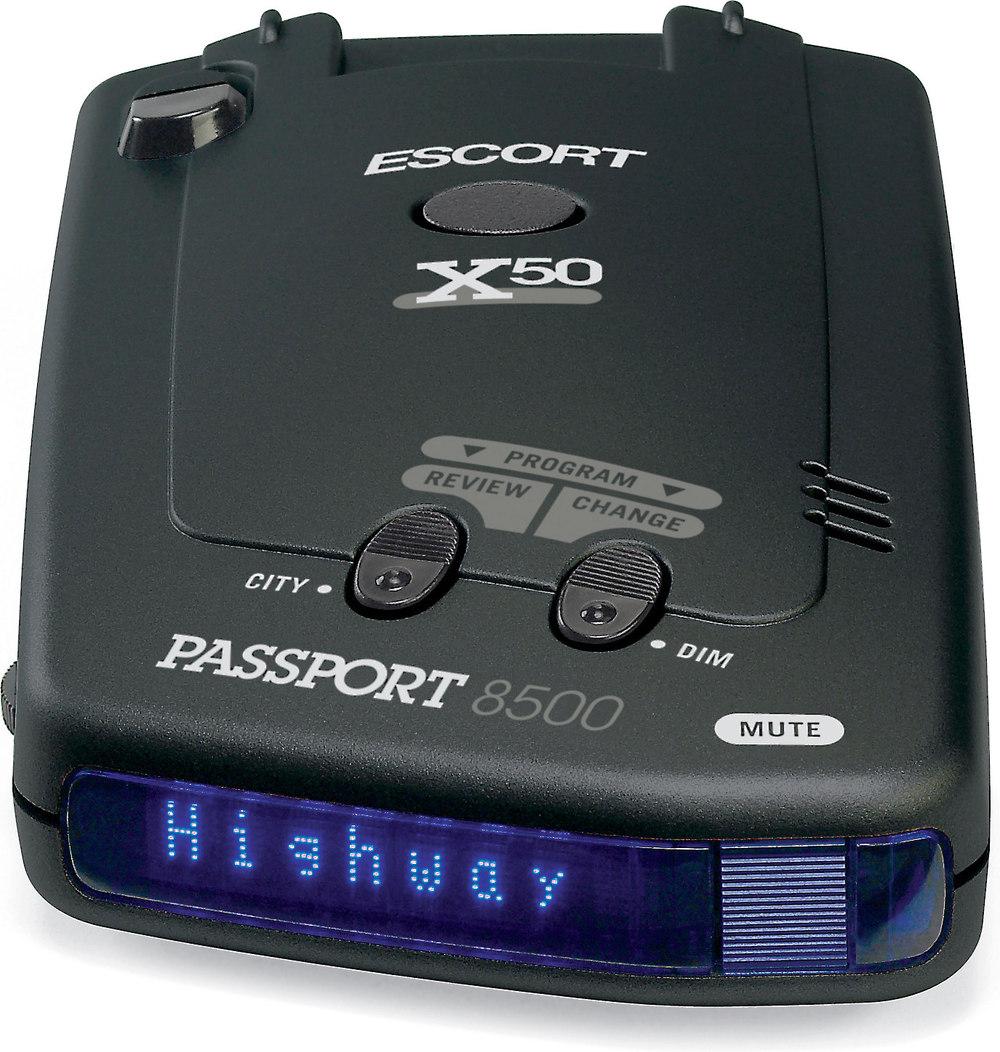 passport 8500 x50 blue display radar detector at crutchfield