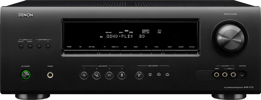 denon avr 1712 home theater receiver with 3d ready hdmi switching at rh crutchfield com