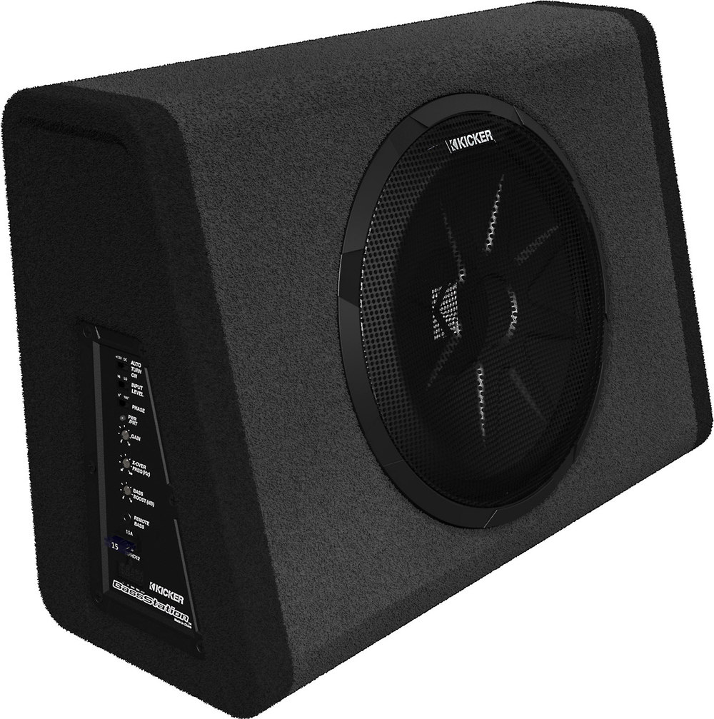 kicker 11pt10 single 10 subwoofer enclosure 90 watt amp at kicker 11pt10 single 10 subwoofer enclosure 90 watt amp at crutchfield com