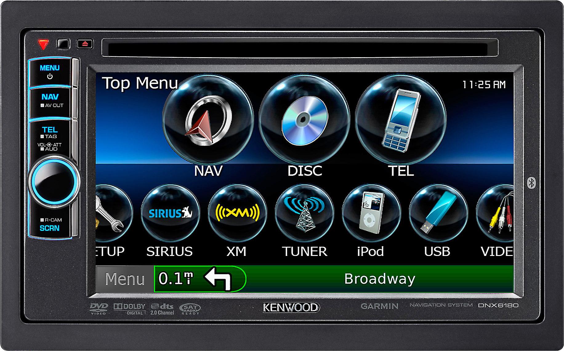 Kenwood DNX6180 Navigation receiver at Crutchfield on