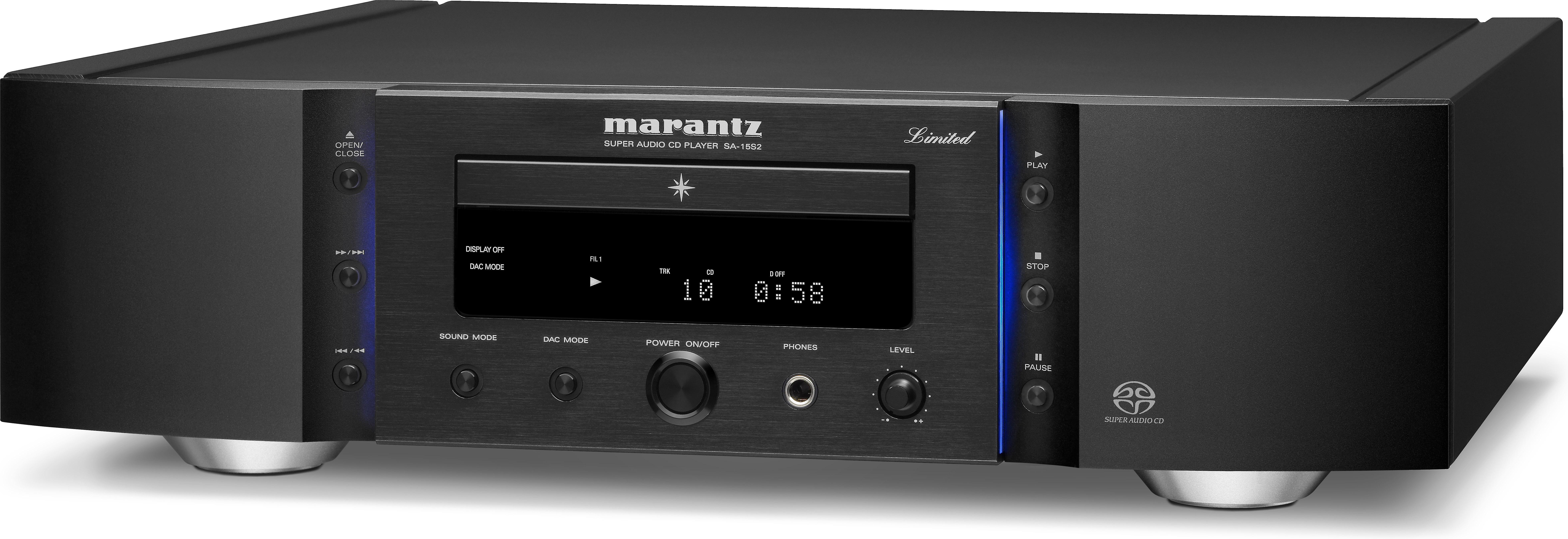 Marantz Reference SA112S12 Stereo SACD/CD player at Crutchfield