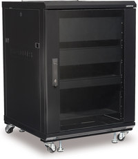 Sanus CFR2115 Component Rack- 15U Rack Spaces  , supports...