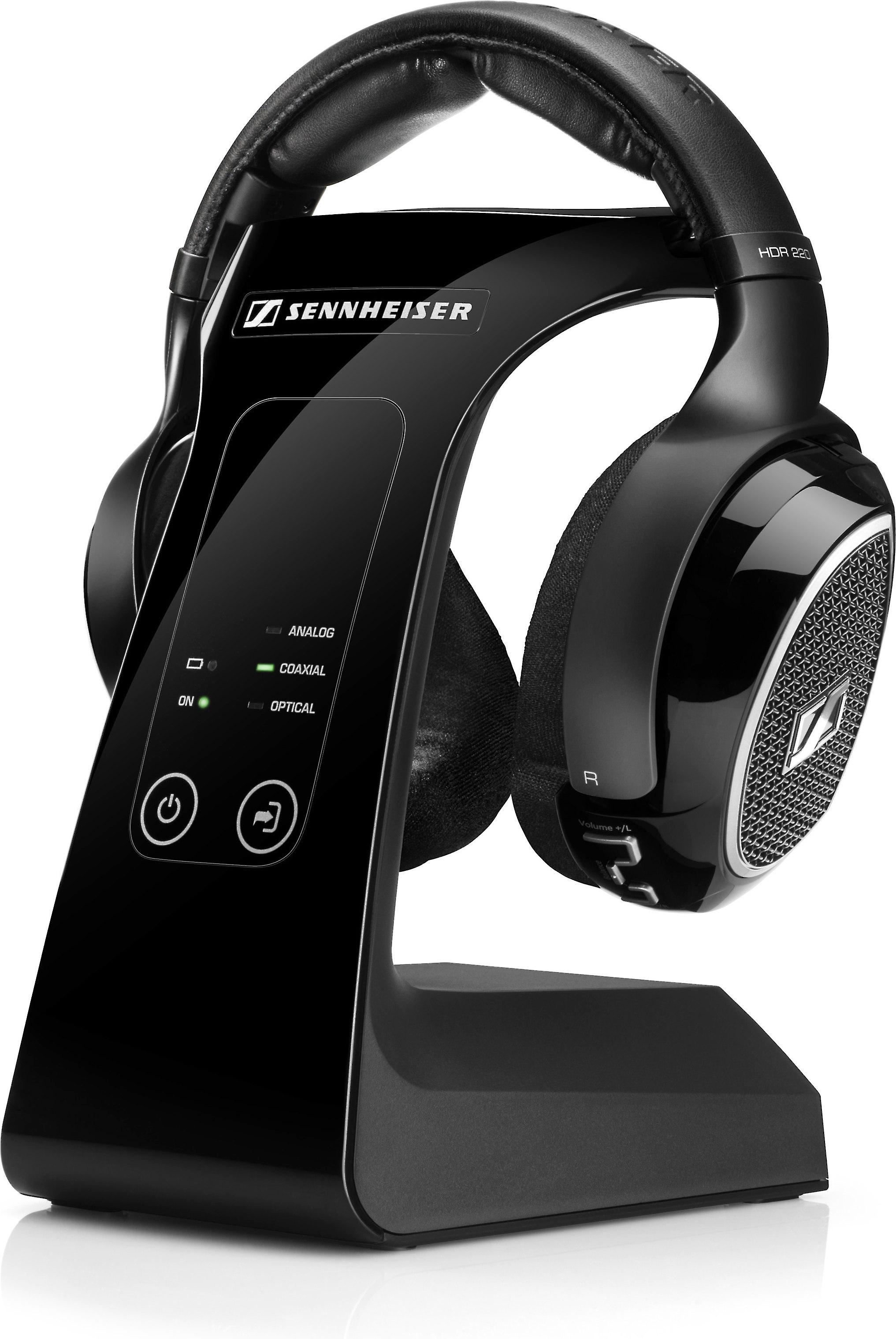 84748ecdf66 Sennheiser RS 220 Wireless headphones with docking station at  Crutchfield.com