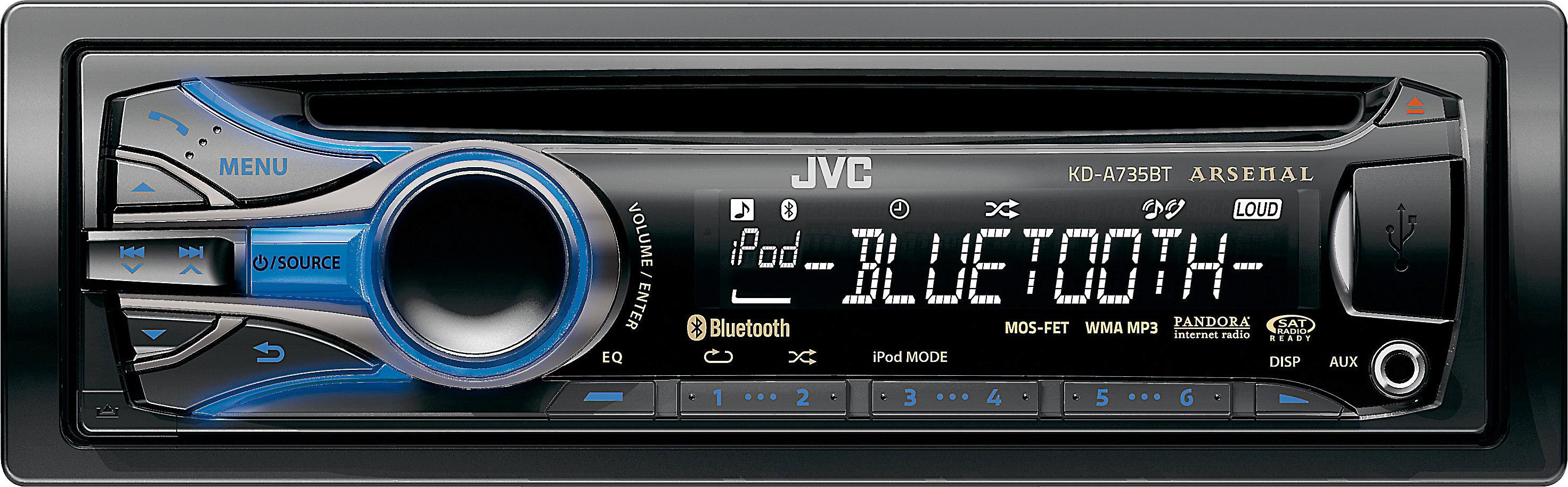 JVC Arsenal KD-A735BT