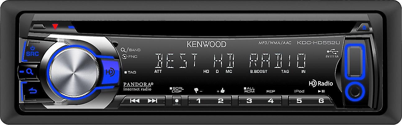 Kenwood KDC-HD552U