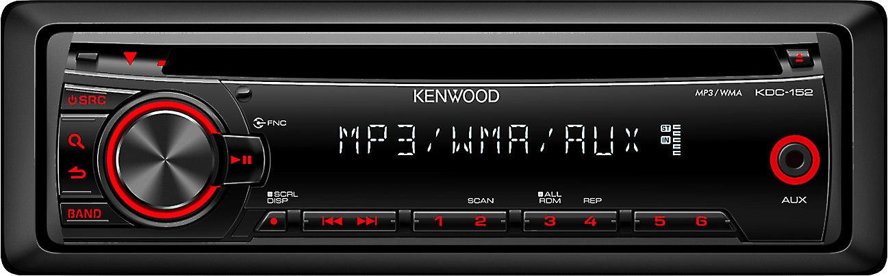 Kenwood KDC-152 CD receiver at Crutchfield on kenwood kdc 138 wire harness, 152 wiring harness, kenwood 152 cd player, kenwood kdc-152 manual,