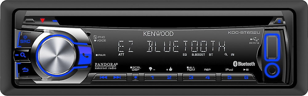 kenwood kdc bt652u cd receiver at crutchfield com rh crutchfield com Kenwood KDC BT 310 Kenwood KDC X695 Manual