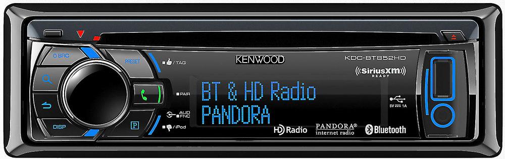 kenwood kdc bt852hd cd receiver at crutchfield com