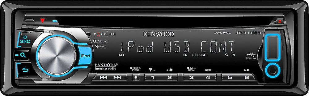 x113KDCX396 F kenwood excelon kdc x396 cd receiver at crutchfield com kenwood kdc-x396 wiring harness at n-0.co