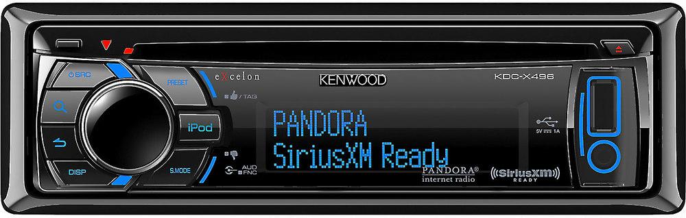 x113KDCX496 F kenwood excelon kdc x496 cd receiver at crutchfield com kenwood kdc x396 wiring diagram at gsmx.co
