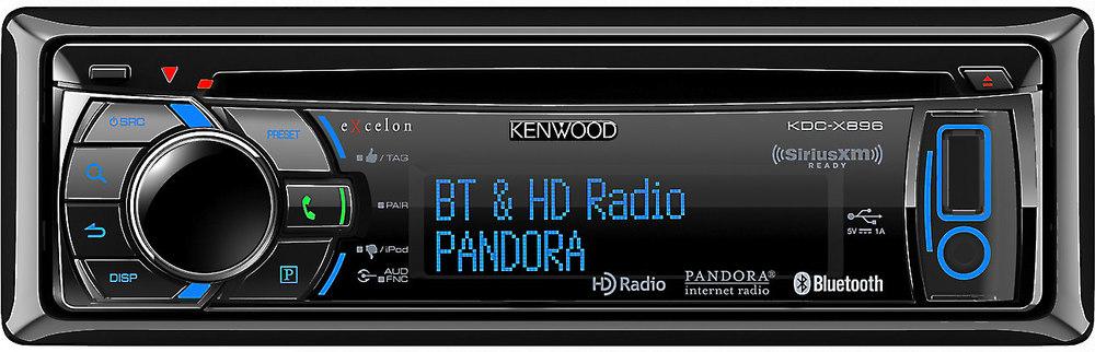 kenwood excelon kdc x896 cd receiver at crutchfield com rh crutchfield com Kenwood eXcelon KDC- X493 Kenwood eXcelon KDC- X395