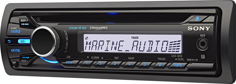 x158CDXM20 F sony cdx m20 marine cd receiver at crutchfield com sony cdx-m20 wiring harness at bayanpartner.co