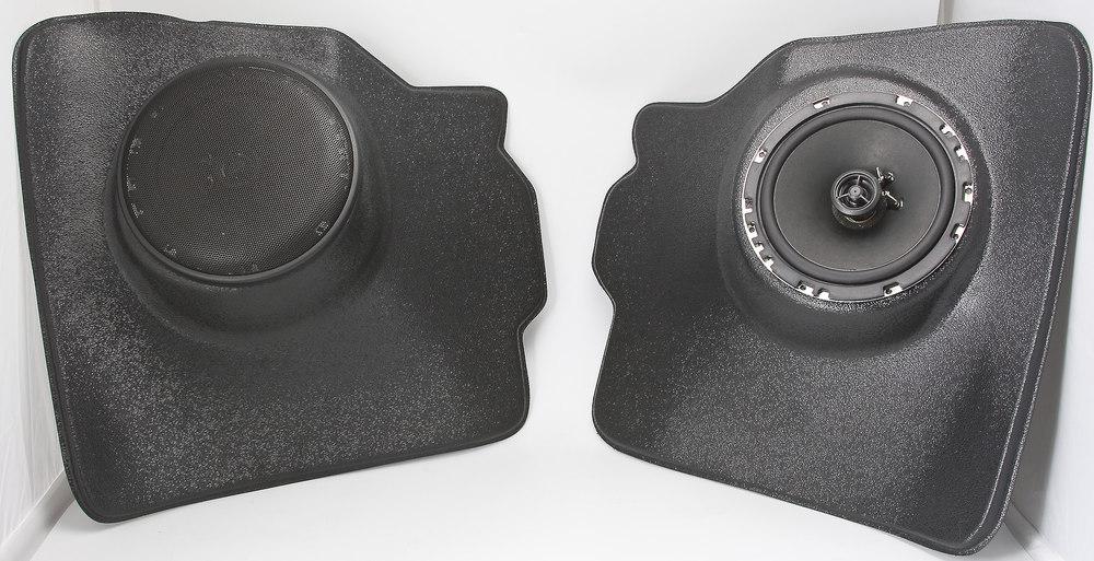 retrosound vwkpb kick panel enclosures includes a pair of 6 3 4 speakers fits in 1949 71 vw. Black Bedroom Furniture Sets. Home Design Ideas