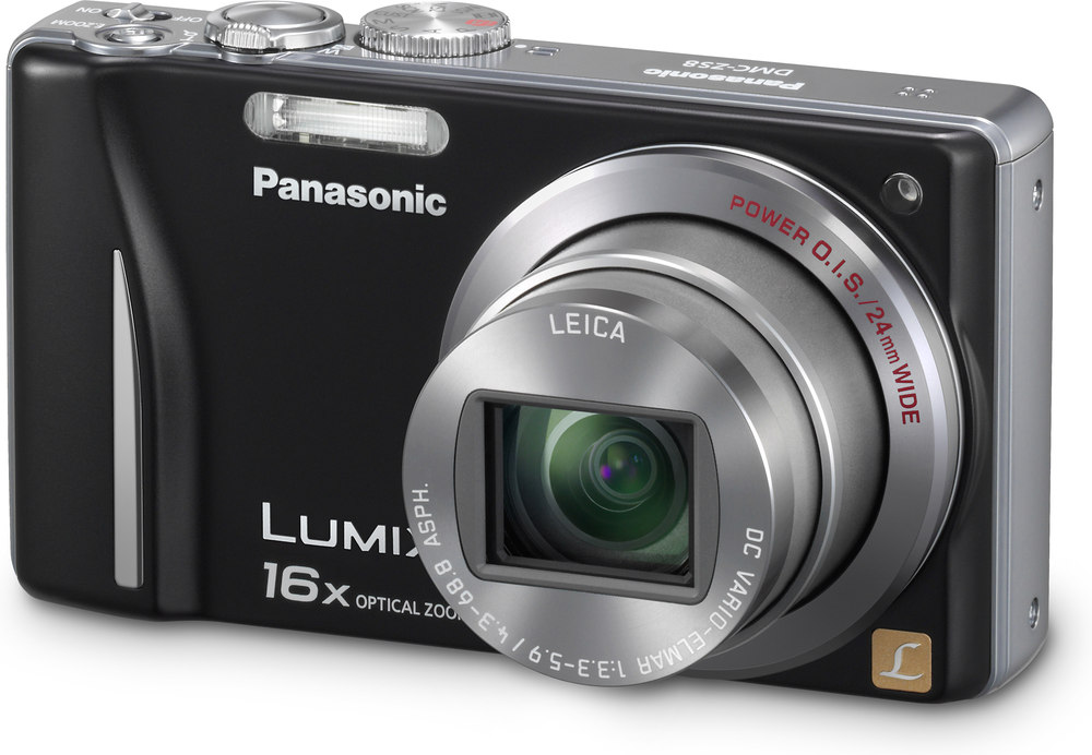 panasonic lumix dmc zs8 black 14 1 megapixel digital camera with rh crutchfield com