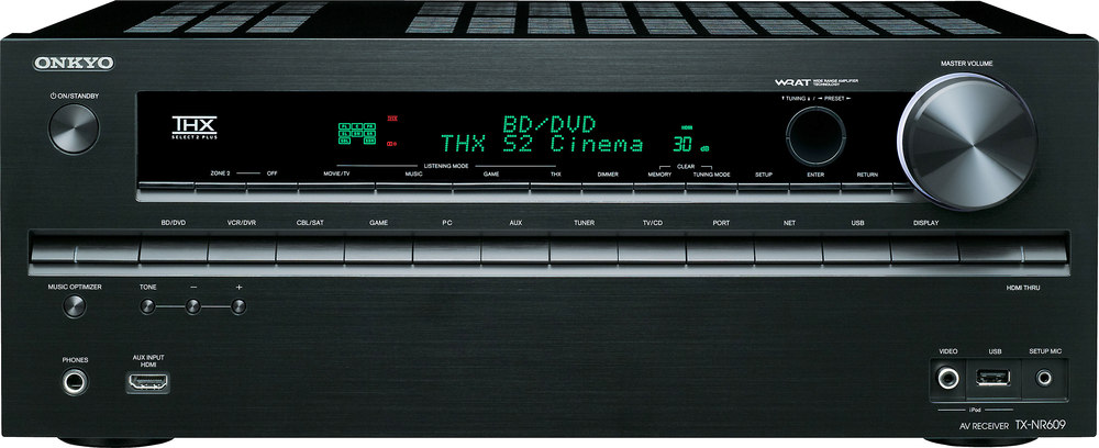onkyo tx nr609 home theater receiver with 3d ready hdmi switching rh crutchfield com Onkyo TX- NR509 Onkyo TX-NR609 Setup