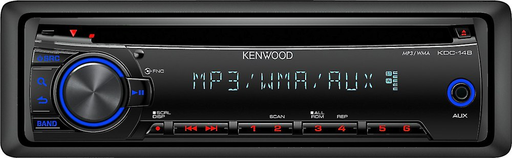 kenwood kdc-148 cd receiver at crutchfield, Wiring diagram