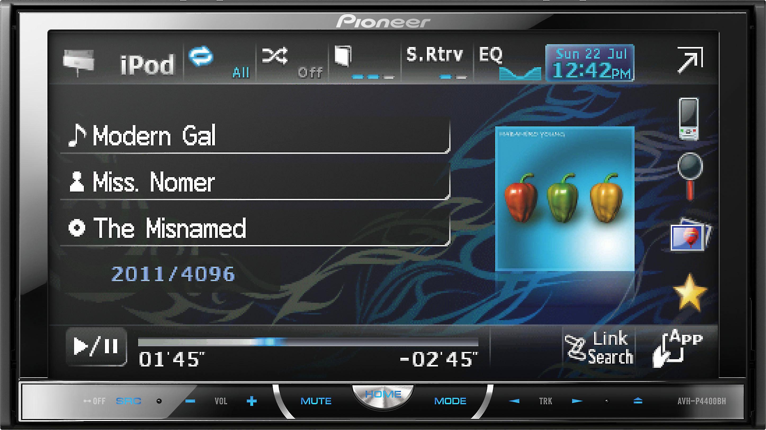 Pioneer Firmware Update Black Screen