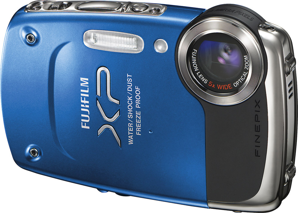 fujifilm finepix xp20 blue tough style 14 megapixel digital camera rh crutchfield com Fujifilm XP Waterproof Fujifilm XP Waterproof Charger