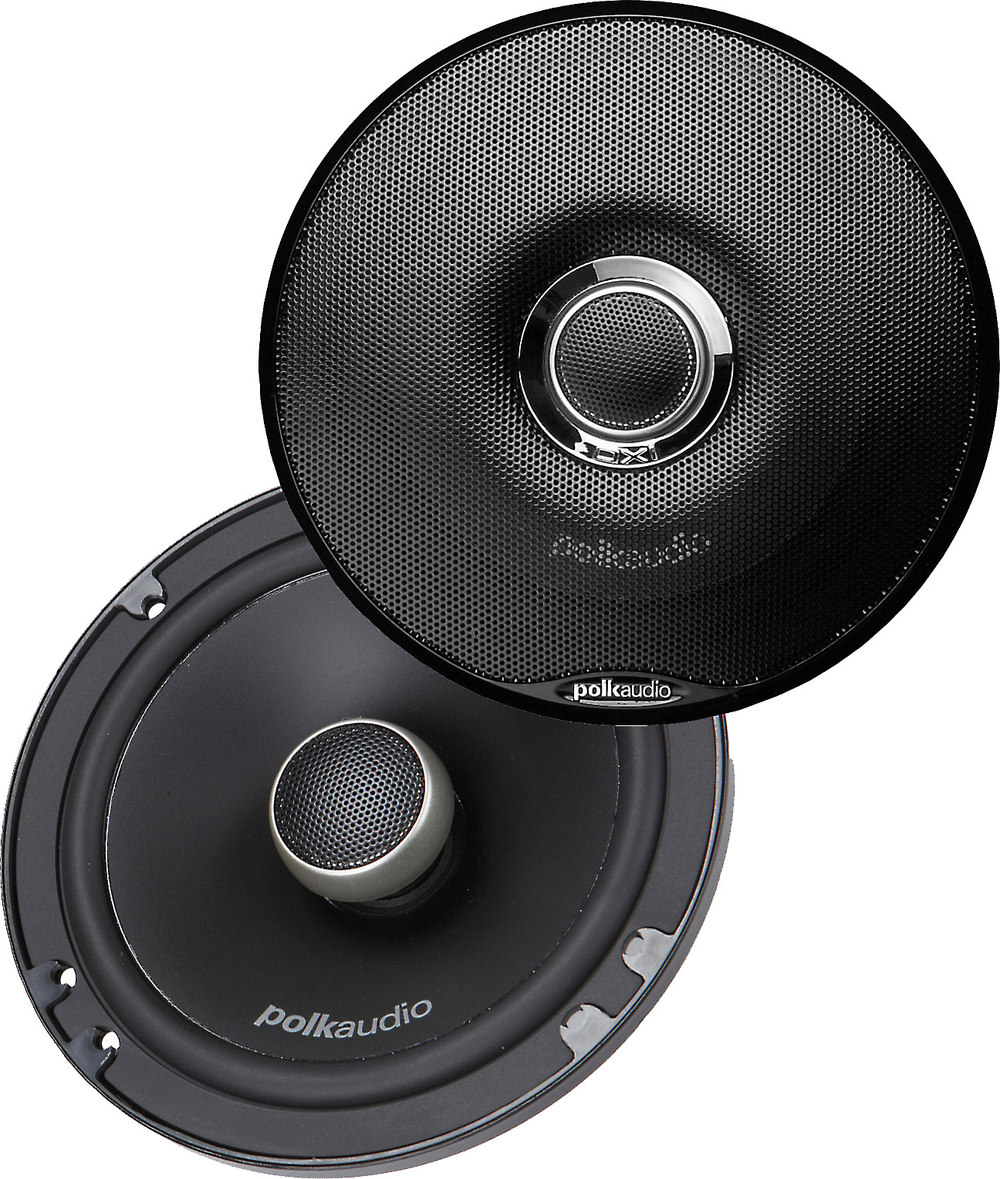 Polk Audio Dxi 650s 6 1 2 Way Shallow Mount Car Speakers At Head Unit To Power The Basslink Leads Showing