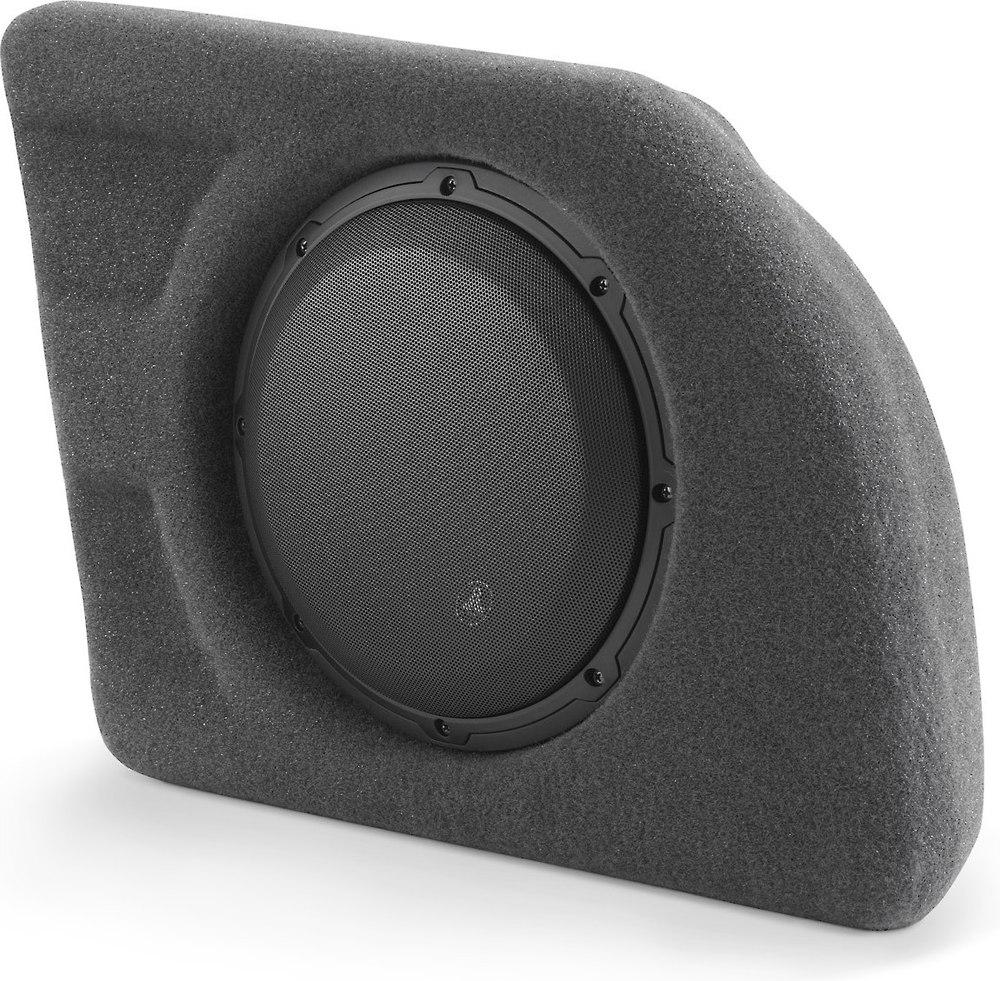 jl audio stealthbox custom fit fiberglass enclosure   wv subwoofer fits