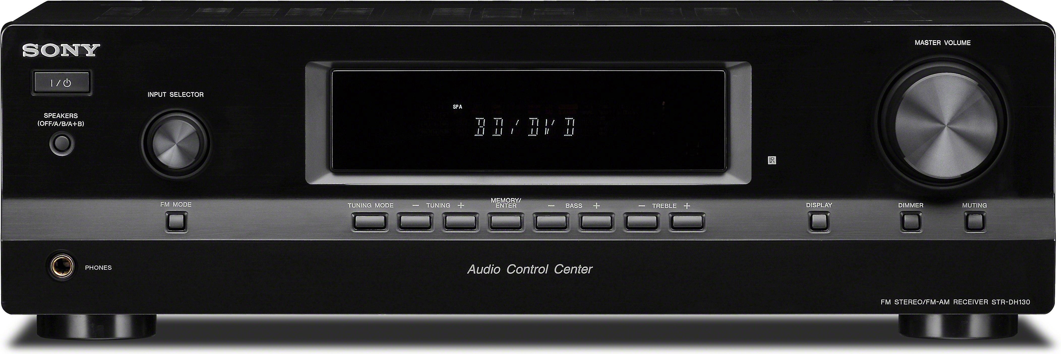 Sony STR-DH130 Stereo receiver at Crutchfield