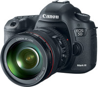 Canon EOS 5D Mark III w/ EF 24-105mm-  22.3MP, 6 FPS, 3.2...