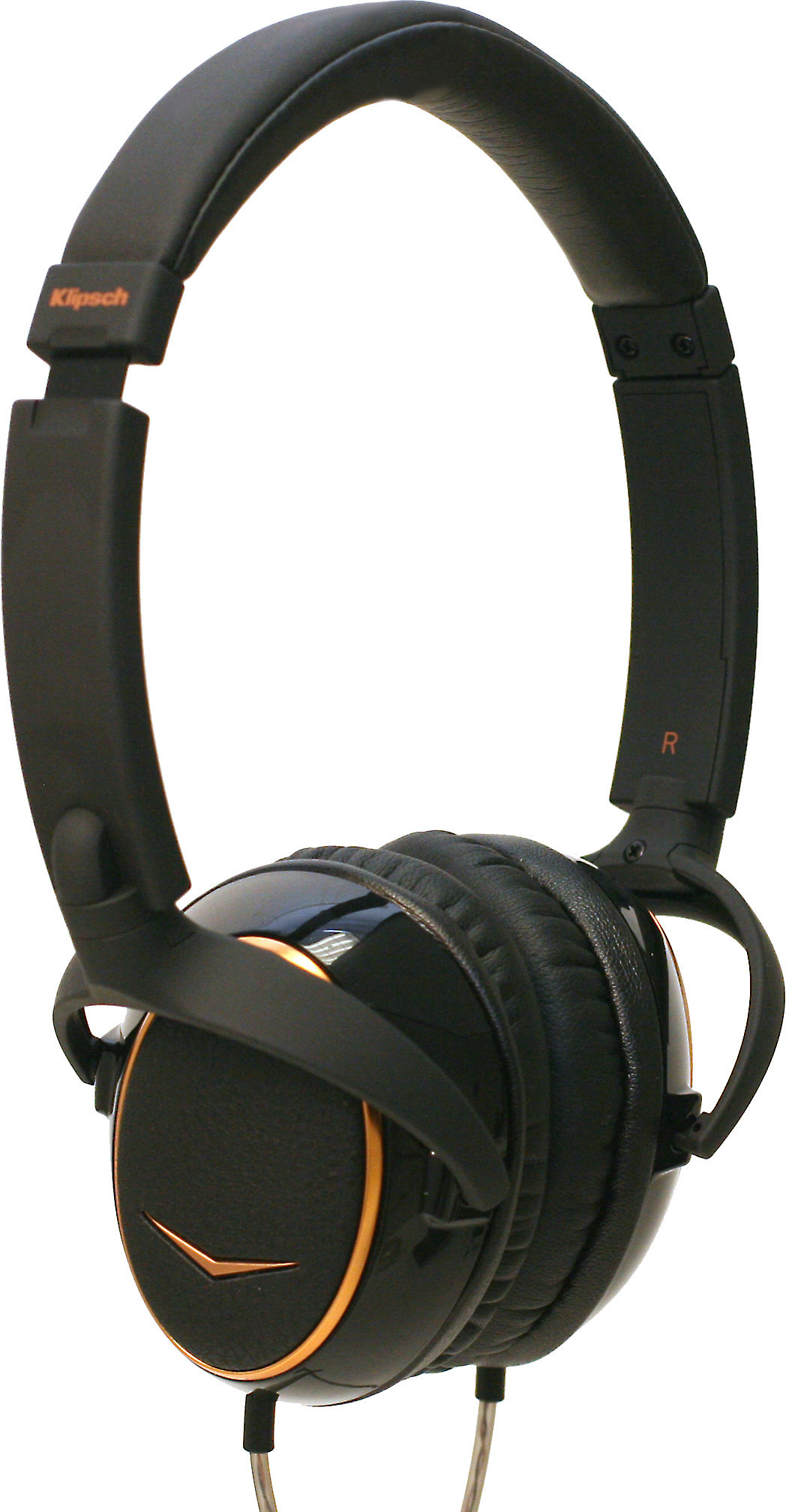 klipsch reference one portable on-ear headphones with in-line remote and  microphone at crutchfield