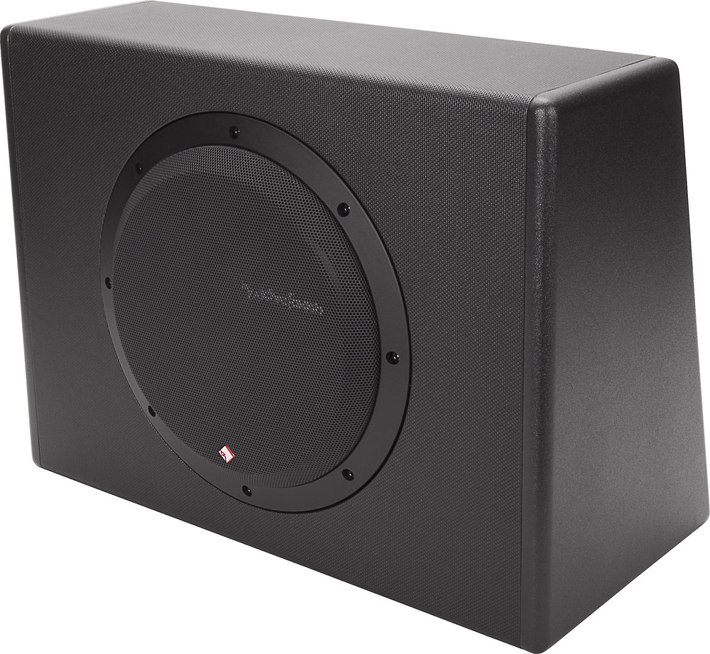 rockford fosgate punch p300 10 single 10 subwoofer enclosure rockford fosgate punch p300 10 single 10 subwoofer enclosure 300 watt amp at crutchfield com