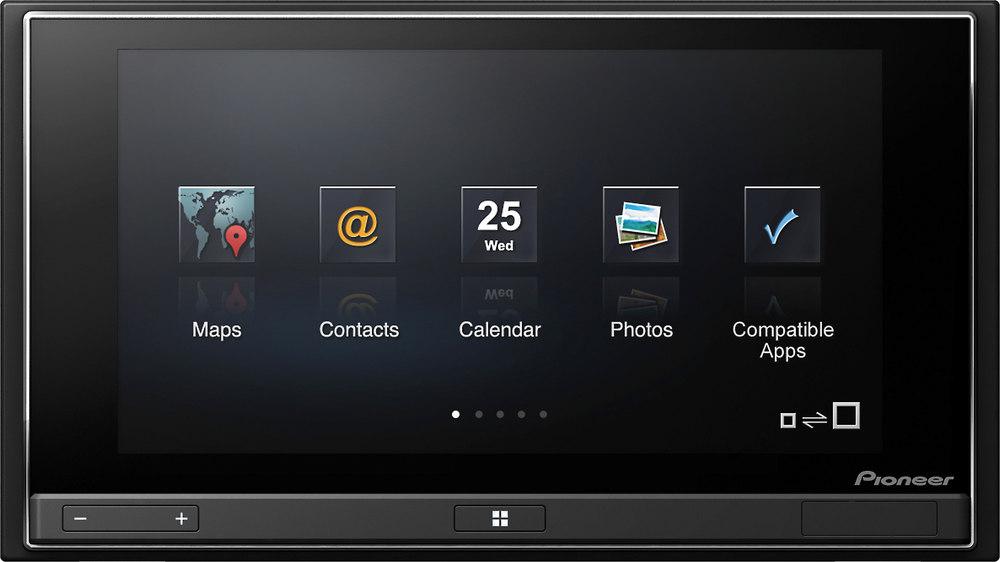pioneer sph da02 appradio smartphone receiver at. Black Bedroom Furniture Sets. Home Design Ideas