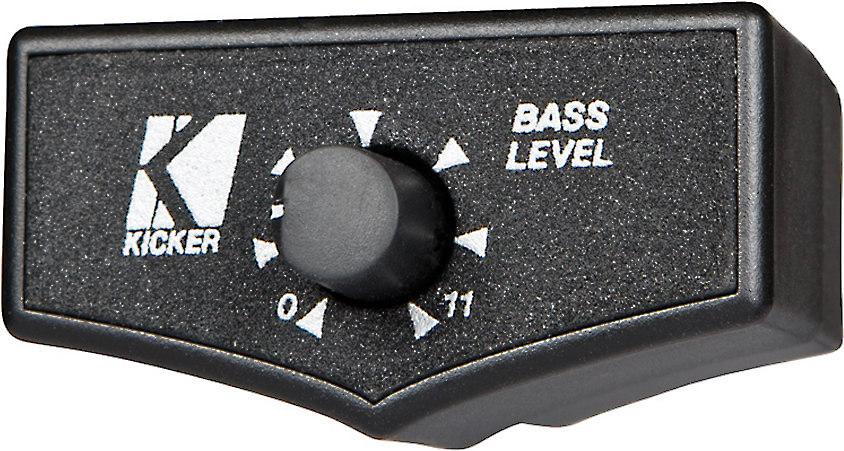 Kicker zxrc remote bass control wired amp remote at crutchfield sciox Gallery