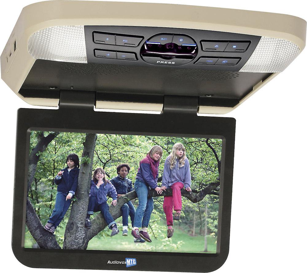 audiovox avxmtg10ua 10 overhead video monitor with built in dvd rh crutchfield com Audiovox 2 Screen DVD Player Audiovox DVD Players for Automobiles