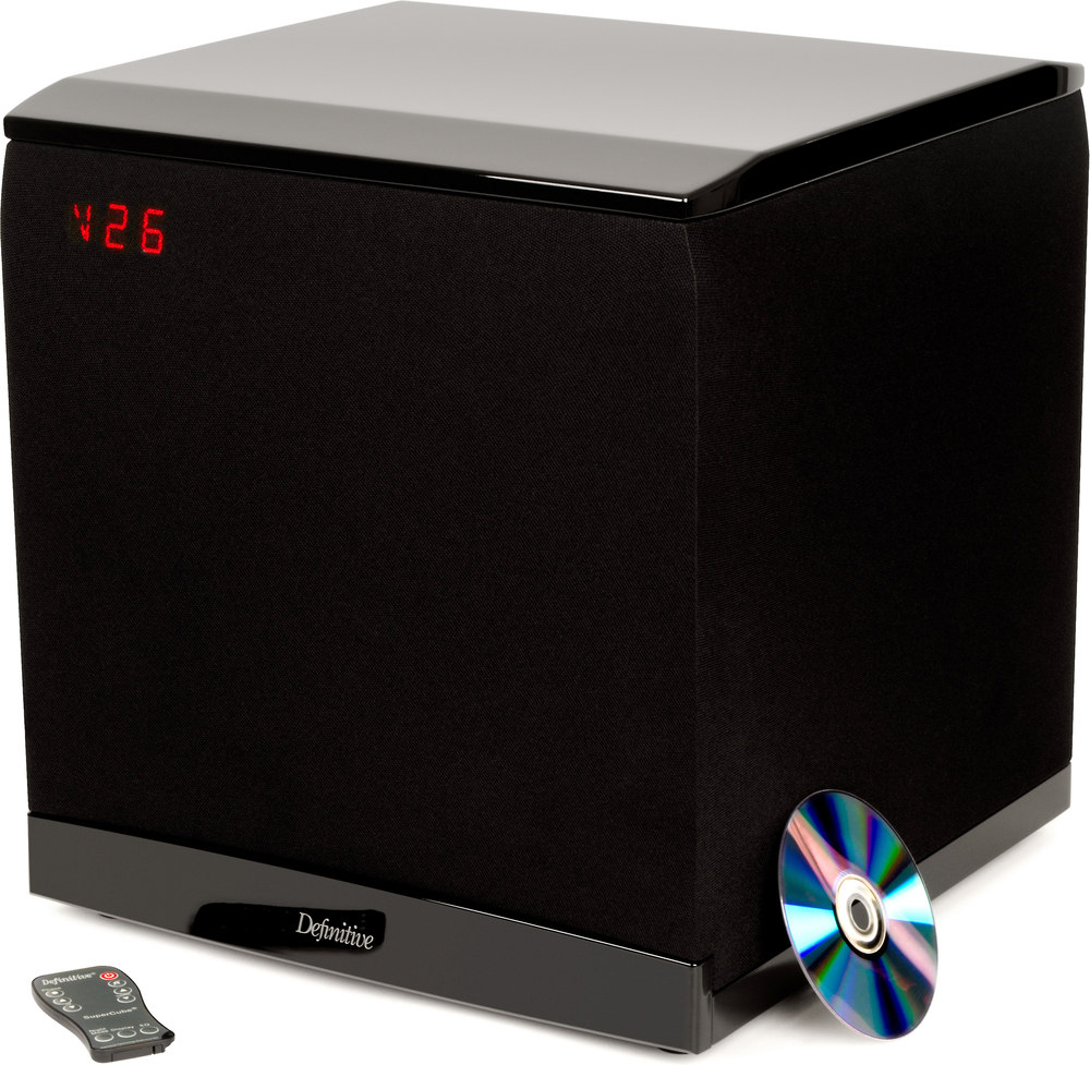 definitive technology supercube 8000 powered subwoofer at