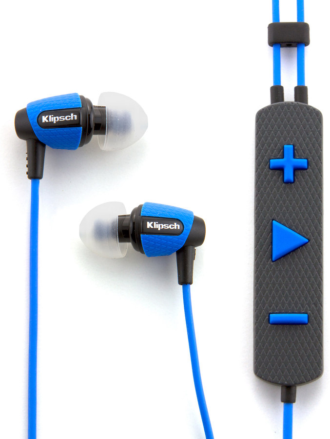 Klipsch Image S4i Rugged Blue In Ear Sports Headphones At Crutchfield Com