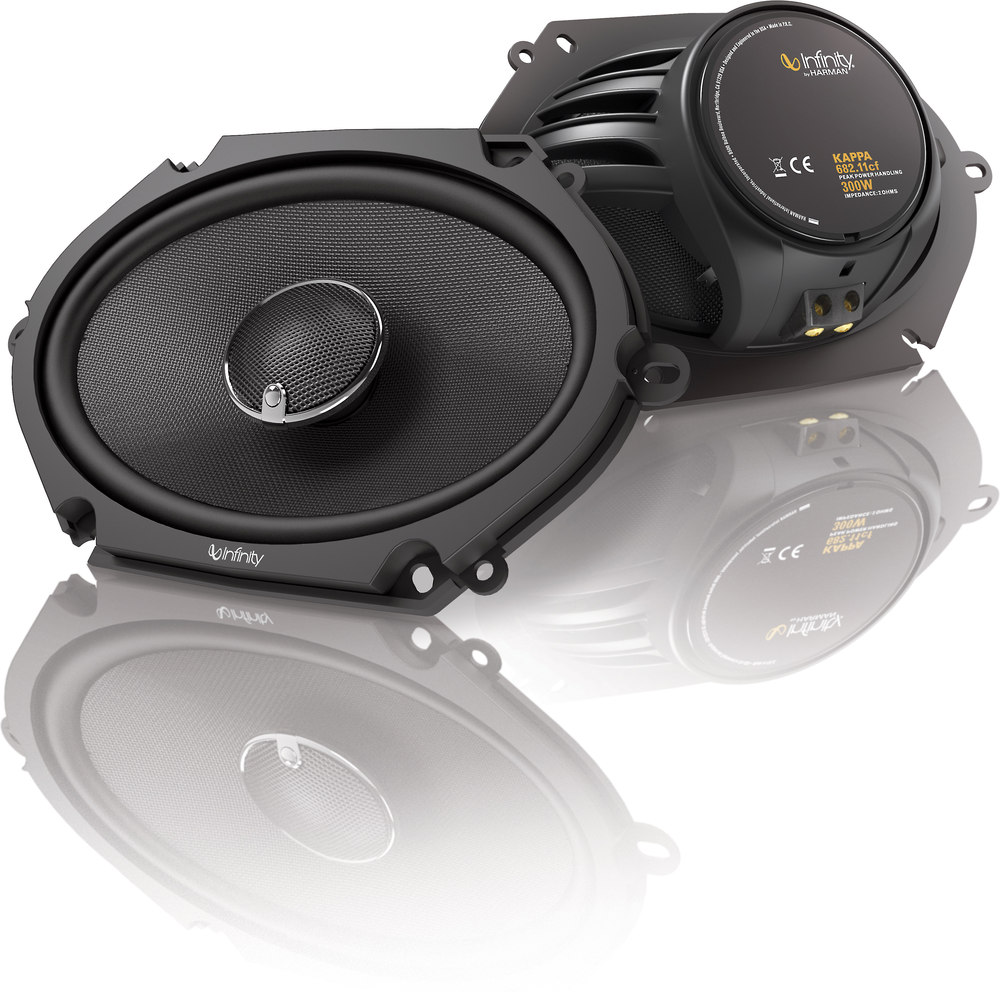 Infinity Speakers Audio Kappa Amplifiers Basslink Subwoofers