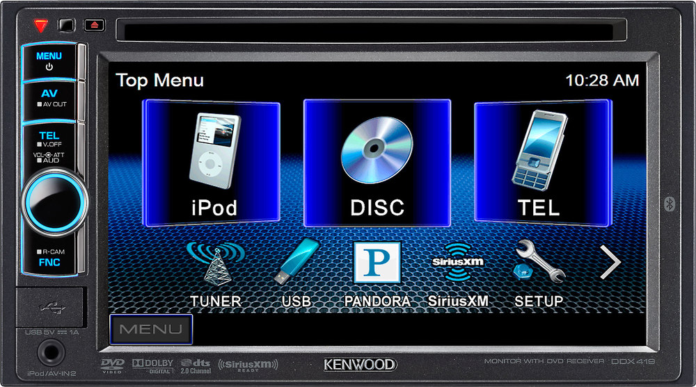 Kenwood Ddx419 Dvd Receiver At Crutchfield: Kenwood Ddx418 Wire Colors At Imakadima.org