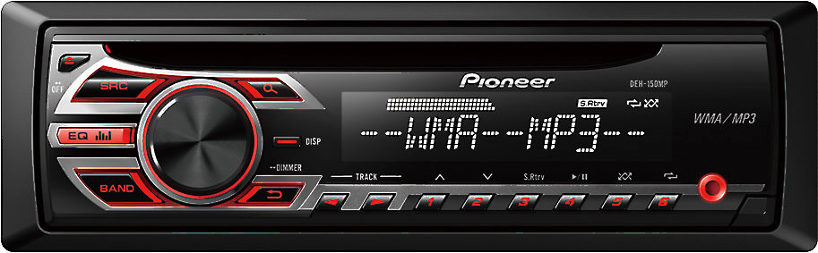 pioneer deh 150mp cd receiver at crutchfield com rh crutchfield com Pioneer DEH -150MP Wiring-Diagram pioneer deh-150 wiring diagram connecting to aftermarket harness