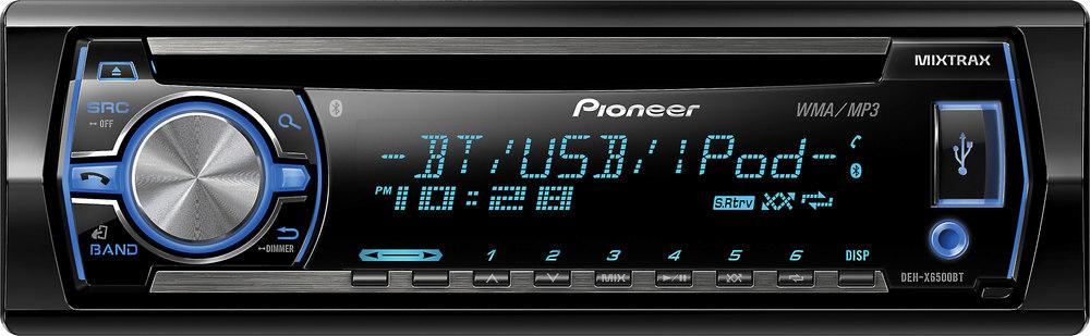 x130X6500BT F pioneer deh x6500bt cd receiver at crutchfield com pioneer deh-x6500bt wiring diagram at suagrazia.org